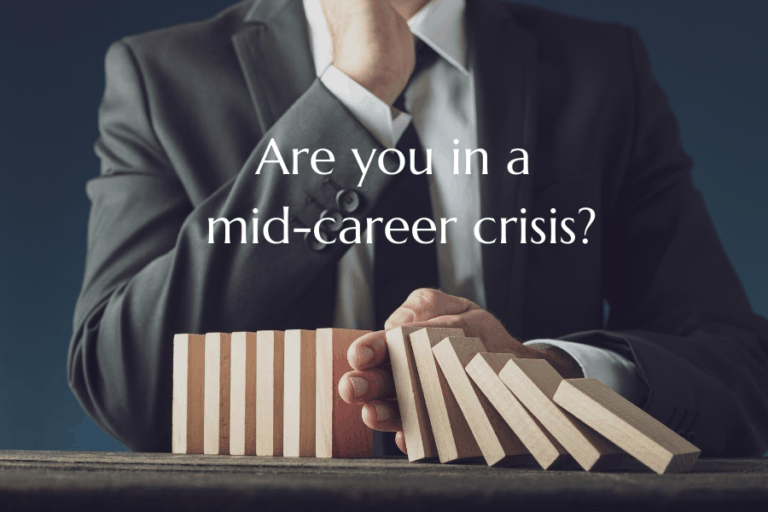 Are you in a mid-career crisis?